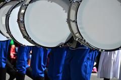 White Drums (pokoroto) Tags: white drums parade calgarystampede calgary   alberta canada  7   shichigatsu fumizuki bookmonth 2016 28 summer july
