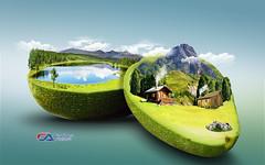 Atelier2 - Montanhas (Carlos Atelier2) Tags: atelier2 carlos montanhas verde cu abacate lago natureza aoarlivre