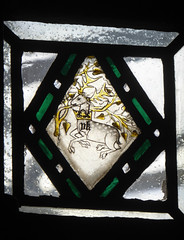 White Stag of Richard II, Zouche Chapel, York Minster (Aidan McRae Thomson) Tags: york minster cathedral yorkshire stainedglass window medieval
