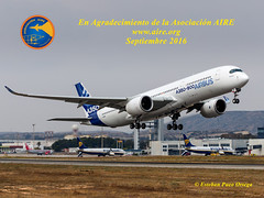Airbus A350-941 F-WXWBEsteban Pueo (portalaire) Tags: aire leal alicante aeropuertodealicante spotting spotters spottingspotter