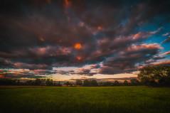 Endless Clouds (lutzheidbrink) Tags: nikon d5000 landscape landschaft clouds wolken herford germany deutschland travel travelphotography naturephotography landscapephotography sunset sonnenuntergang oetinghausen hiddenhausen