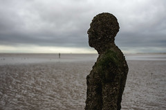 Crosby beach, 'Another place' 2 (nicholasgray4) Tags: crosbybeach anotherplace sea liverpool gormley sculpture pentax k5ii