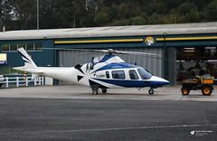 G-DMPI Agusta A109E, Castle Air Ltd, Trebrown Heliport, Liskeard, Cornwall (Kev Slade Too) Tags: gdmpi agusta a109 castlemotorsltd trebrown liskeard cornwall