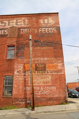 Dairy Ghosts (jschumacher) Tags: virginia petersburg petersburgvirginia sign ghostsign rust rusty