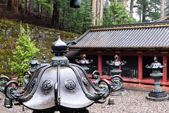 Rinnoji Taiyuin X (Douguerreotype) Tags: shrine lantern nikko buddhist temple japan