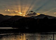 Sundown (cricketlover18) Tags: cumbria lakedistrict sunset derwentwater keswick