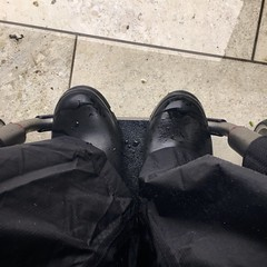 Rain again (Henry Maddocks) Tags: boots hunter rain rubber wet