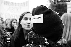 _ATI1137 (attila.husejnow) Tags: black protest blackmonday monday warsaw poland women woman abortion against demonstrate demonstration