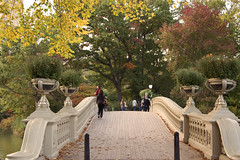 Bow Bridge - NYC Central Park (frankiefotocpa) Tags: park city nyc newyorkcity urban fall autumn foliage centralpark colors beautiful capture digitalphotography photography travel