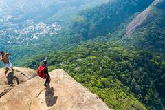 DSC_6079 (sergeysemendyaev) Tags: 2016 rio riodejaneiro brazil pedradagavea    hiking adventure best    travel nature   landscape scenery rock mountain    high green   summit base  jump  parachute extreme dangerous adrenaline