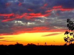 New York Sunset (dimaruss34) Tags: newyork brooklyn dmitriyfomenko image sky sunset clouds