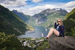 Norway (TranceMist) Tags: flydalsjuvet geiranger natalie norway overhang mreogromsdal