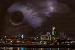 omaha (mbenkis) Tags: deathstar starwars omaha nebraska downtown