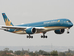 Vietnam Airlines. Third Test Flight For Airbus A350. (Jacques PANAS) Tags: vietnam airlines airbus a350941 vna890 fwzfc msn056