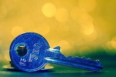 Cosa aprir? Macro Monday - EDGE ((Raffaella@)) Tags: chiave key bokeh macromonday macro canon metallo