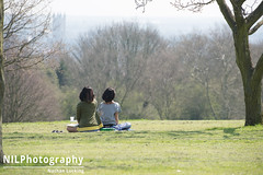 Friends watching the world going by (NILPhotography:) Tags: people sun nature kent spring nikon canterbury universityofkent d600 nilphotography nathanlucking