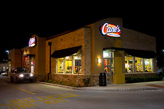 Raising Cane's drive-thru (ezeiza) Tags: food chicken oklahoma night restaurant drive farm fingers fastfood fast moore canes drivethru through ok drivethrough chickenfingers thru raising raisingcanes fritts frittsfarm