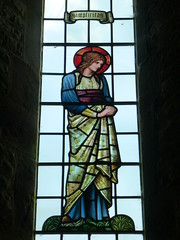 All Saints' Church, Preston Bagot: stained glass window (John Steedman) Tags: uk greatbritain england church window unitedkingdom stainedglass henley stainedglasswindow warwickshire allsaints allsaintschurch grossbritannien henleyinarden  grandebretagne prestonbagot warks