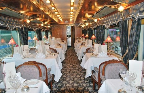 Eastern & Oriental restaurant car