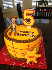 Toy Story Woody Cake by Collette www.birthdaycakes4free.com Santa Cruz, Ca