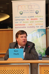 Keir Fitch, Deputy Head of Cabinet S. Kallas, European Commission (Smart Move) Tags: green public european eu passenger safe publictransport mobility smartmove affordable iru efficient userfriendly passengertransport