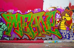 MEAN (JOHN19701970) Tags: streetart london wall graffiti paint artist may spray waterloo mean graff aerosol lambeth 2013 leakestreet