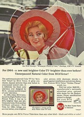 RCA 64 (1950sUnlimited) Tags: advertising 1960s tvs advertisements rca televisions midcentury