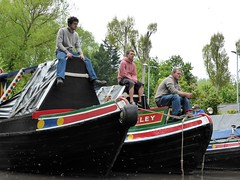 Rickmansworth Canal Festival 2013 (dehavillandimages) Tags: people festival boats canal union watching working grand spectators hertfordshire waterways barges rickmansworth 2013