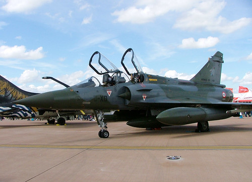 605 Dassault Mirage 2000D, French Air Force, RAF Fairford, 14 July 2007