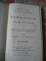 "DIE ELECTRICITAT BY AMPERE, 1822. • <a style=""font-size:0.8em;"" href=""http://www.flickr.com/photos/51721355@N02/8793061418/"" target=""_blank"">View on Flickr</a>"