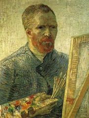 Van_Gogh_self_portrait_as_an_artist (Carlos Cesar Alvarez) Tags: arte vangogh pintura