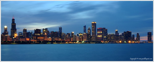 Take Two:  Chicago - The Windy City in Twilight!!