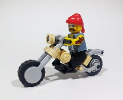 """Bad to the Bone"" (Project Azazel) Tags: google lego pa motorbike vehicle custom custombike googleimages legovehicle legomodel legomotorcycle legomotorbike projectazazel legocustommotorbike"