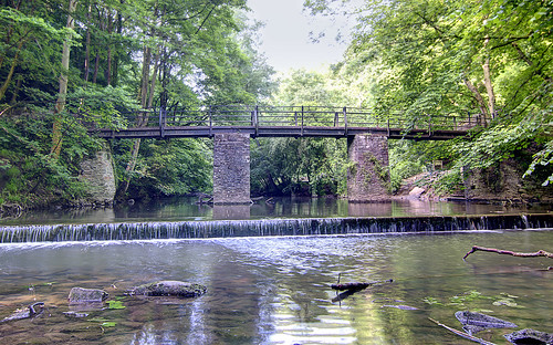 Snuff Mills bridge