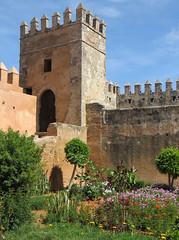 Rabat kasbah des Oudaya_0555B (JespervdBerg) Tags: holiday spring 2016 africa northafrican tamazight amazigh arab arabic moroccanstyle moroccan morocco maroc marocain marokkaans marokko rabat qasbah kasbah qasba oudayas oudaias