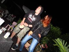Freakness unleashed in Schubi's garden (evil king) Tags: party music beer metal garden fun switzerland swiss bongo performance bbq grill alcohol solo barbecue bern berne garten chill spass freaks doof freakshow grillieren bmpliz unhugo
