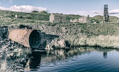Groverake Mine (Blaydon52C) Tags: groverake mine mining abandoned weardale rookhope durham lake water reflections rust ruin ruins industry