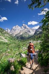 2016Upperpaintbrush13s-83 (skiserge1) Tags: park camping lake mountains america freedom hiking grand jackson national backpacking wyoming teton tetons