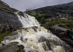Thats flowing a lot faster than when we set out (milo42) Tags: wind extreme wild meetup wales httpwwwchrisnewhamphotographycouk mountains windy 2016 rain weather warning rocks extremewind weatherwarning tanygrisiau unitedkingdom gb