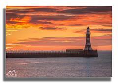 roker pier (timothytripod) Tags: roker pier sunrise sunriselovers colour mornng sunderland northsea lghthouse piers sea sescape redsky explore