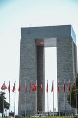 Turkey Memorial (Allison Mickel) Tags: nikon d7000 adobe lightroom edited turkey gallipoli history museum war wwi battle monument memorial