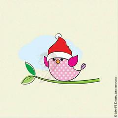 Cute Digital Christmas Bird with Santa Hat #SantaHat #cute #Christmas #Bird #birdsofinstagram #birdstagram #christmascrafts #christmasproject #businessowners #businesses #businessman #businesswomen #CommercialUse #design #ClipArt #cardmakinghobby #cardmak (maypldigitalart) Tags: businessowners cardmakinghobby bird whimsicalart birdstagram commercialuse whimsy christmascrafts businesses businessman birdsofinstagram christmas animal cutebird clipart scrapbook digital cute santahat cardmaking christmasproject businesswomen design
