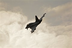 Evening Flight (J @BRX) Tags: eveningflying eurofighter typhoon royalairforce raf rafconingsby lincolnshire england uk august2016 summer jet nikon d5200 sigma aviation av