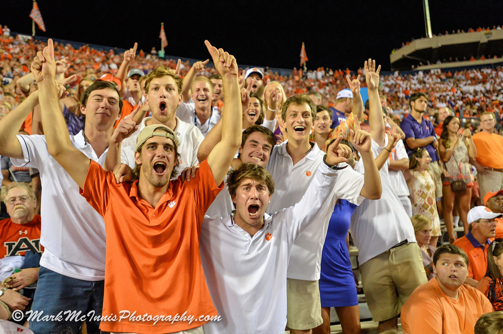 Clemson Photos: Football, 2016, Auburn, Mark  McInnis  Photography