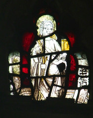 saint with a martyr's palm and a book (Simon_K) Tags: wiggenhall mary magdalene magdalen norfolk eastanglia