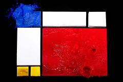 ..il mio Mondrian.. (armonie perfette) (Antonio Iacobelli (Jacobson-2012)) Tags: pietmondrian abstract astratto acrylic colors splash nikon d5 quadralite cactus rf60 bari
