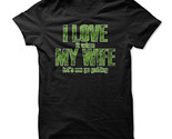 New I Love It When My Wife Let's Me Go Golfing Unique Men T-Shirt Size S-2XL (Adiovith) Tags: new i love it when my wife lets me go golfing unique men tshirt size s2xl