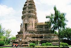 The Stupa of Phra Maha That, in the Ancient City, Muang Boran, Samut Prakan Province, Thailand. (samurai2565) Tags: samutprakan samutprakanprovince thailand ancientsiam ancientcity muangboran sukhumvitroad bangkok lekviriyaphant bangpu