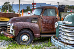 Patina -  HTT (Paul Rioux) Tags: bc motor vehicle pickup truck generalmotors patina rusting rusted abandoned forgotten old vintage classic weathered outdoor happytruckthursday prioux gmc htt