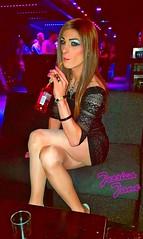 Basement Bar @Pinks (jessicajane9) Tags: tv cd tg lgbt xdress tgirl trans transgender transvestite crossdressing crossdresser m2f femme feminization nylons tights minidress